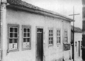 Ano 1900 - 1ª Santa Casa de Misericórdia de Faxina
