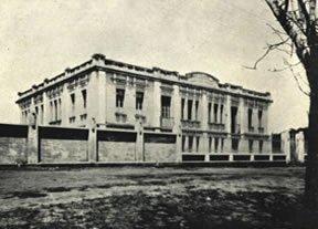 Ano 1919 - Prédio Construido para Santa Casa de Misericórdia de Faxina