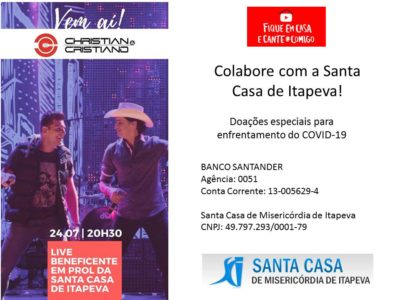Colabore com a Santa Casa de Itapeva
