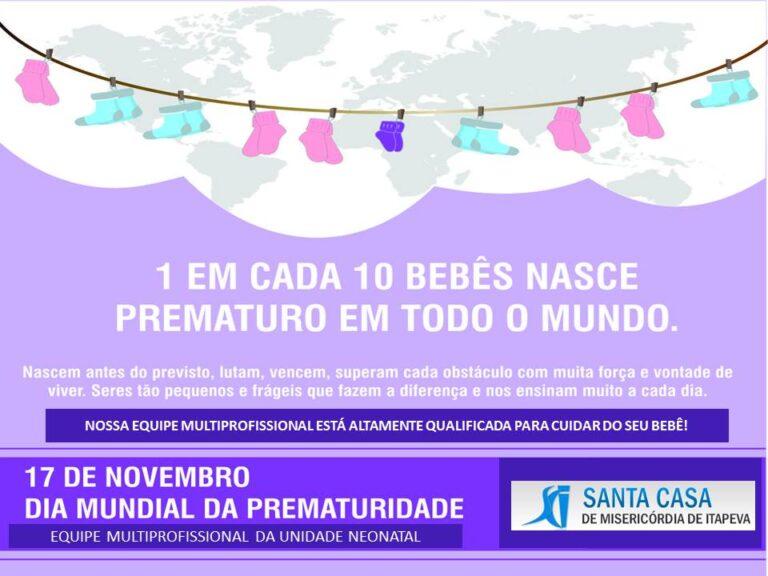 Novembro Roxo: celebrando a vida do prematuro!